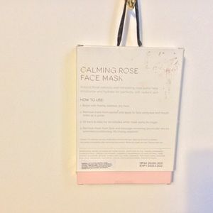 Other - Calming face Rose masks 5 pack New in Box